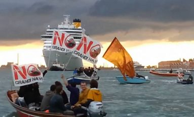 Venezia, comitato No grandi navi: Laguna inquinata come Pechino