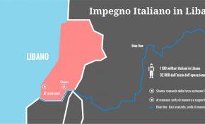 Libano, ancora 1.100 militari italiani: possibili attentati contro Unifil