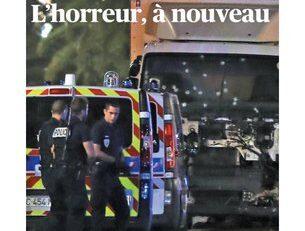 Terrore a Nizza: le prime pagine dei media esteri