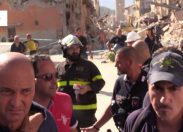 Terremoto, intervista al sindaco di Amatrice