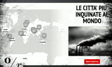 Ambiente, le 10 città più inquinate al mondo: ecco la mappa