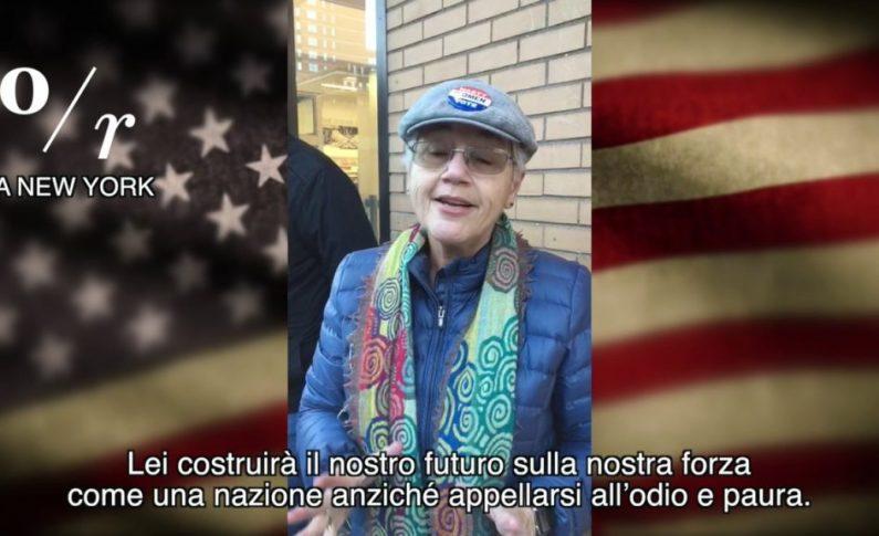Elezioni Usa, i supporters di Hillary Clinton/ VIDEO
