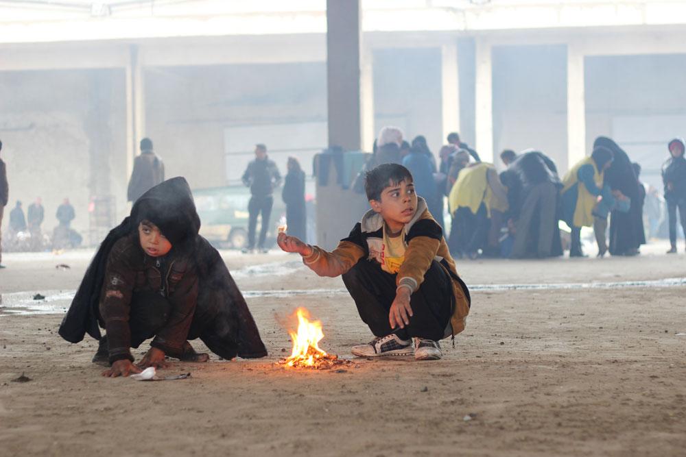 Siria, Unicef: mezzo milione di bambini intrappolati nel conflitto