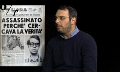 VIDEO, Paolo Borrometi: Io giornalista sotto scorta non sono un eroe, faccio solo il mio lavoro