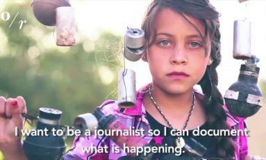 """Baby giornaliste raccontano la guerra su Twitter: """"Sono morte anche le mie bambole"""""""