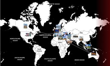 La mappa del terrorismo: 70 attentati in due anni