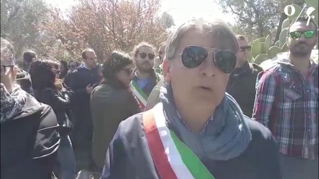 """Gasdotto, sindaco di Melendugno: """"Non ci fermiamo qui"""""""