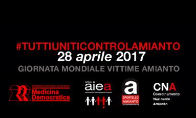 Amianto: al via la campagna #tuttiuniticontrolamianto