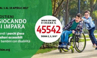 Bambini disabili, solo in 5 parchi su 100 sono presenti giostre accessibili