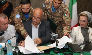 Libano, contingente militare italiano patrocina gemellaggio tra Sant'Antioco e Tiro