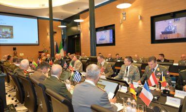 Sicurezza, concluso quarto vertice dei Capi di Stato Maggiore degli Eserciti europei
