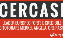 AAA cercasi leader forte per l'Europa