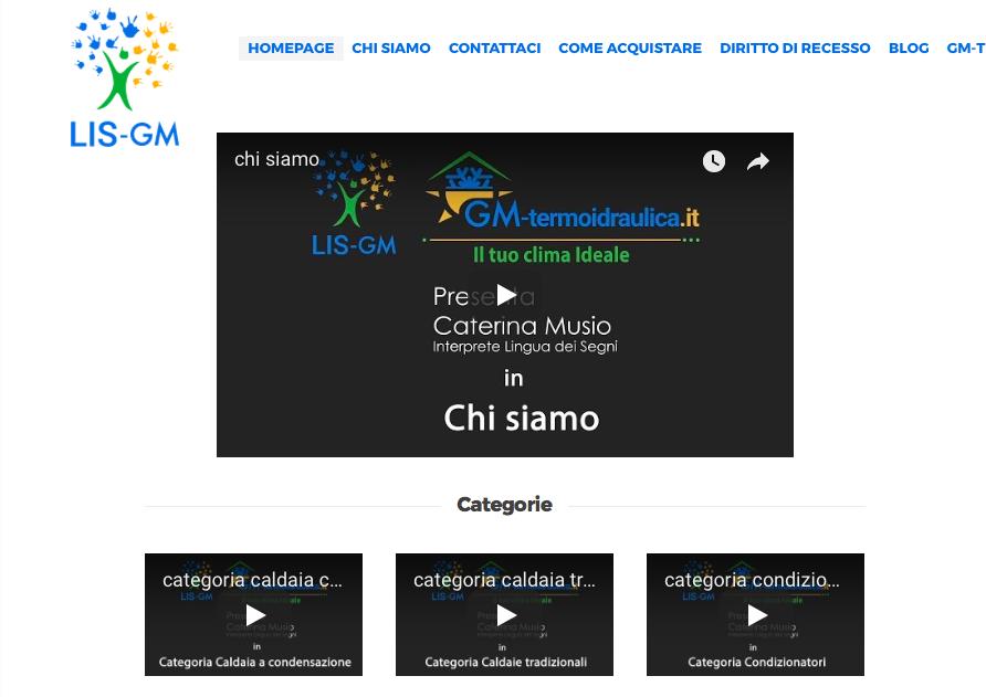 Lis-Gm.it: il primo sito e-commerce interamente tradotto nella lingua dei segni