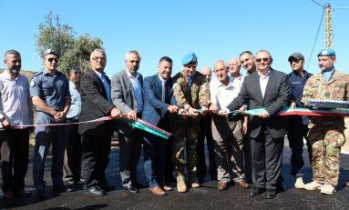Caschi Blu italiani in Libano: inaugurata strada per popolazione locale