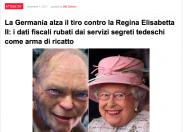 """Scenarieconomici: """"I dati fiscali della Regina Elisabetta rubati da 007 tedeschi"""""""