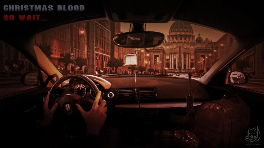 """Roma di nuovo nel mirino dell'Isis: """"Vi aspetta un Natale di sangue"""""""
