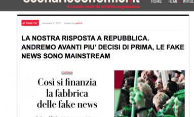 """Scenarieconomici risponde a Repubblica: """"Andremo avanti più decisi che mai"""""""