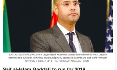 Libia, il ritorno del clan Gheddafi: Saif si candiderà alle prossime elezioni