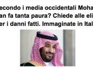"""Scenarieconomici: """"Perché bin Salman fa tanta paura?"""""""
