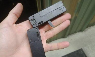 Allarme sicurezza: commercializzata una mini-pistola pieghevole