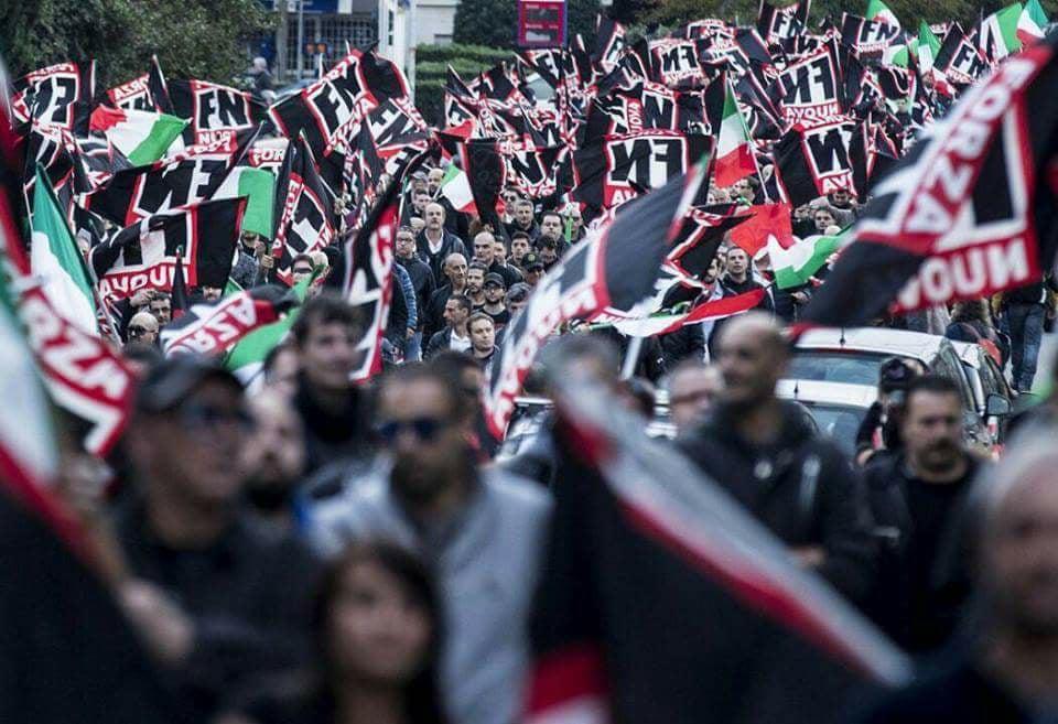 """Militante Forza Nuova pestato, la rivendicazione: """"A Palermo non c'è spazio per il fascismo"""""""