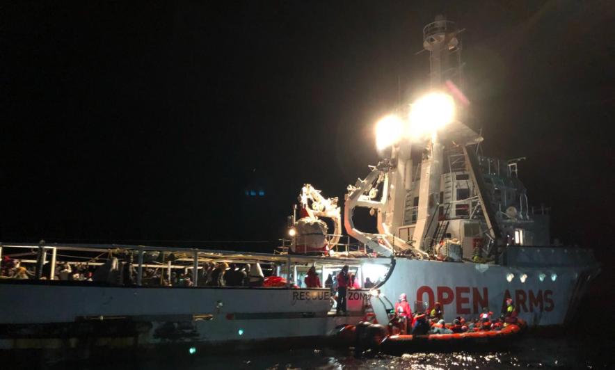 """Ong, Marina libica: """"La nave spagnola ha agito come se stesse cercando prede"""""""