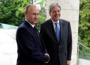"""Gentiloni espelle diplomatici russi senza avere il """"consenso"""" degli italiani"""