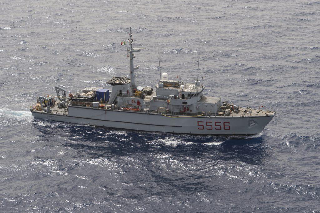 Marina Militare: cacciamine Alghero si unisce al gruppo della Nato