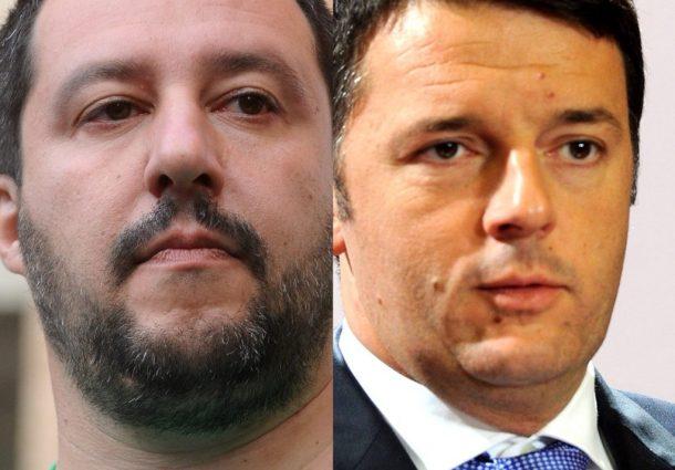 La pazza idea di Renzi: nuovo Nazareno con Salvini