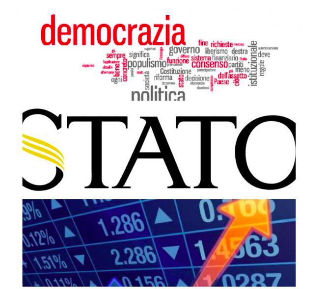 """Scenarieconomici: """"E' saltato equilibrio fra democrazia, Stato e mercato"""""""