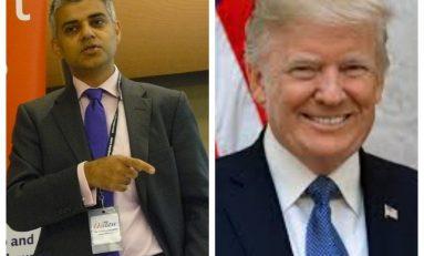 Trump a Londra: ancora scontro con il sindaco Sadiq Khan