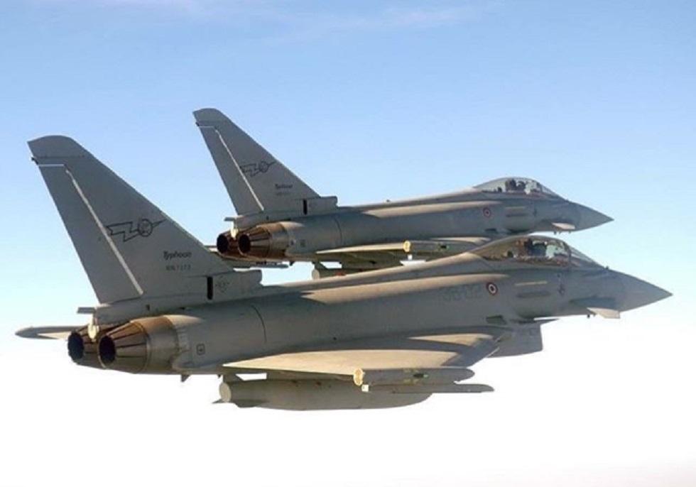 Doppio intervento per i caccia intercettori dell'Aeronautica