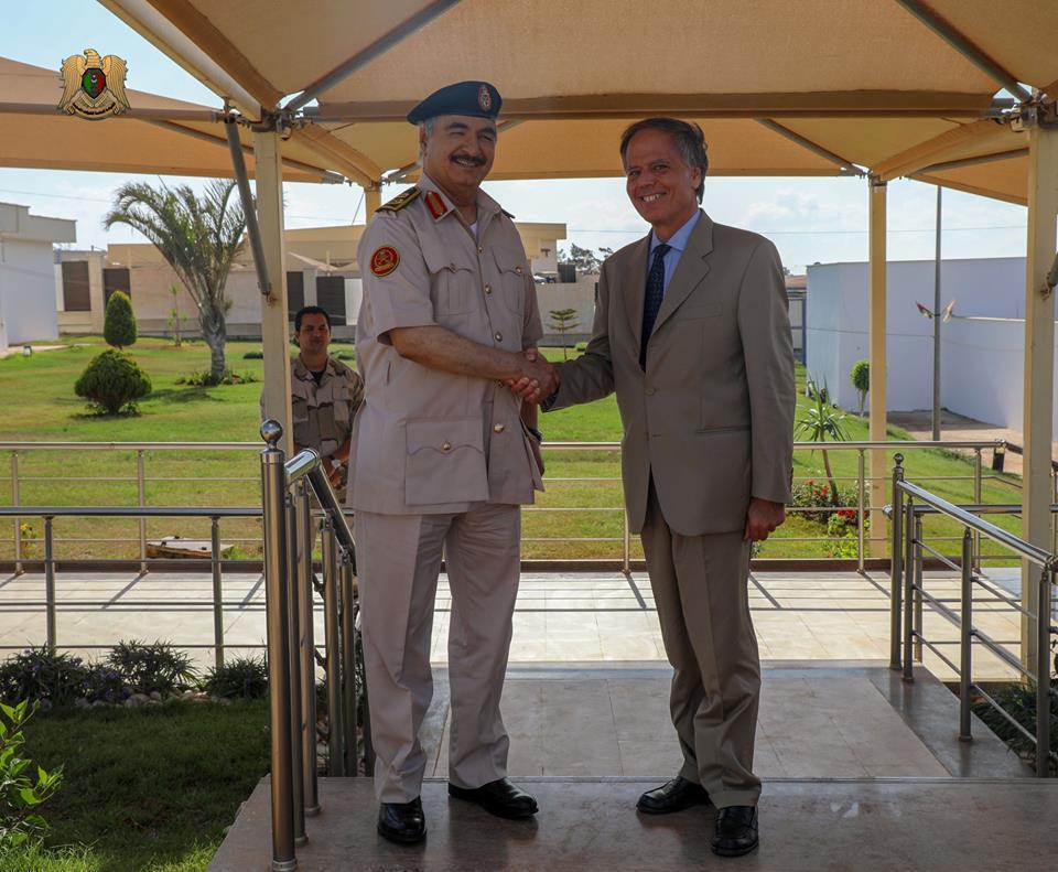 Libia, Moavero incontra Haftar: pace o tregua?