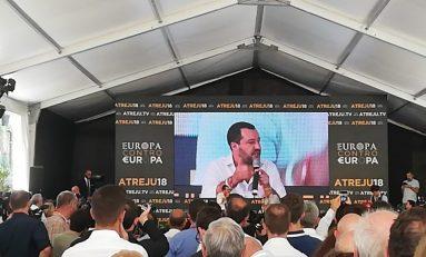 """Salvini a Atreju: """"Pronto ai ricorsi contro decreto immigrazione e sicurezza"""""""