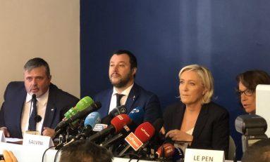 Il 'Fronte' Salvini-Le Pen vuole una nuova Europa