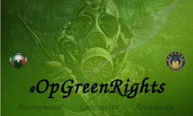 Cyber, Anonymous lancia #OpGreenRights: violati 14 siti