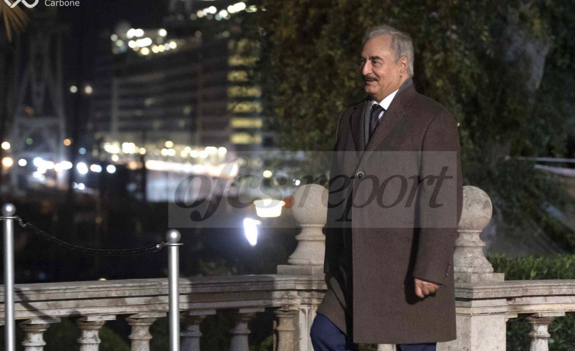 Conferenza Libia, la passerella di Haftar/FOTO