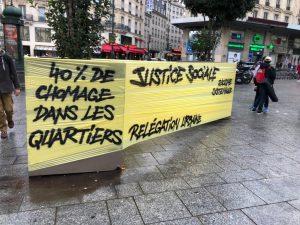 Parigi gilet gialli Foto Twitter