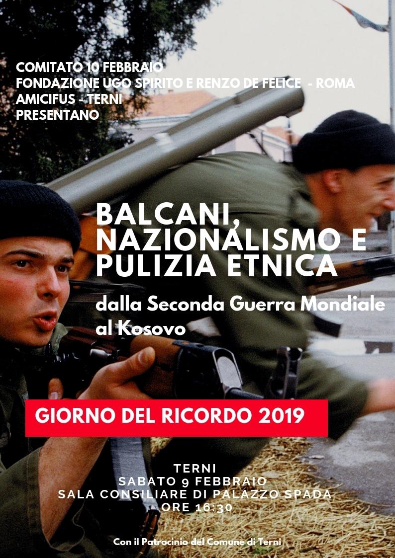 Non solo Foibe. Balcani, nazionalismo e pulizia etnica