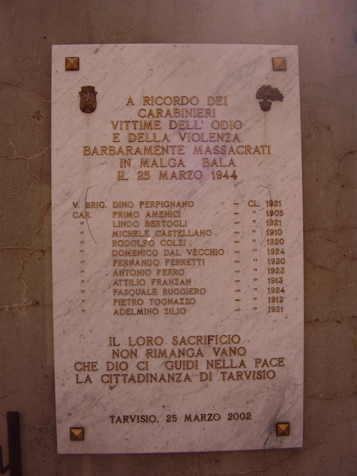 Una memoria…smemorata: 25 marzo 1944