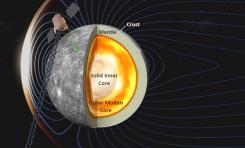 Ricerca: scoperto il cuore solido di Mercurio
