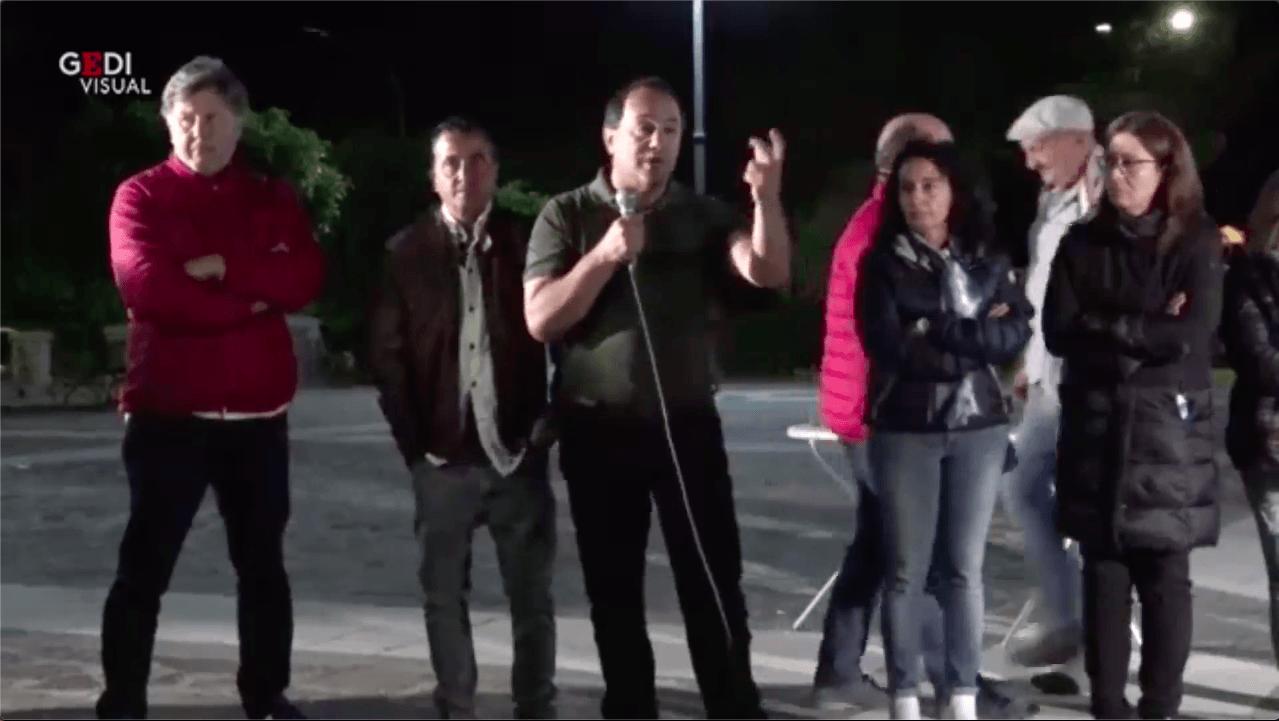 Mimmo Lucano accolto a Riace, ma i suoi concittadini votano Lega