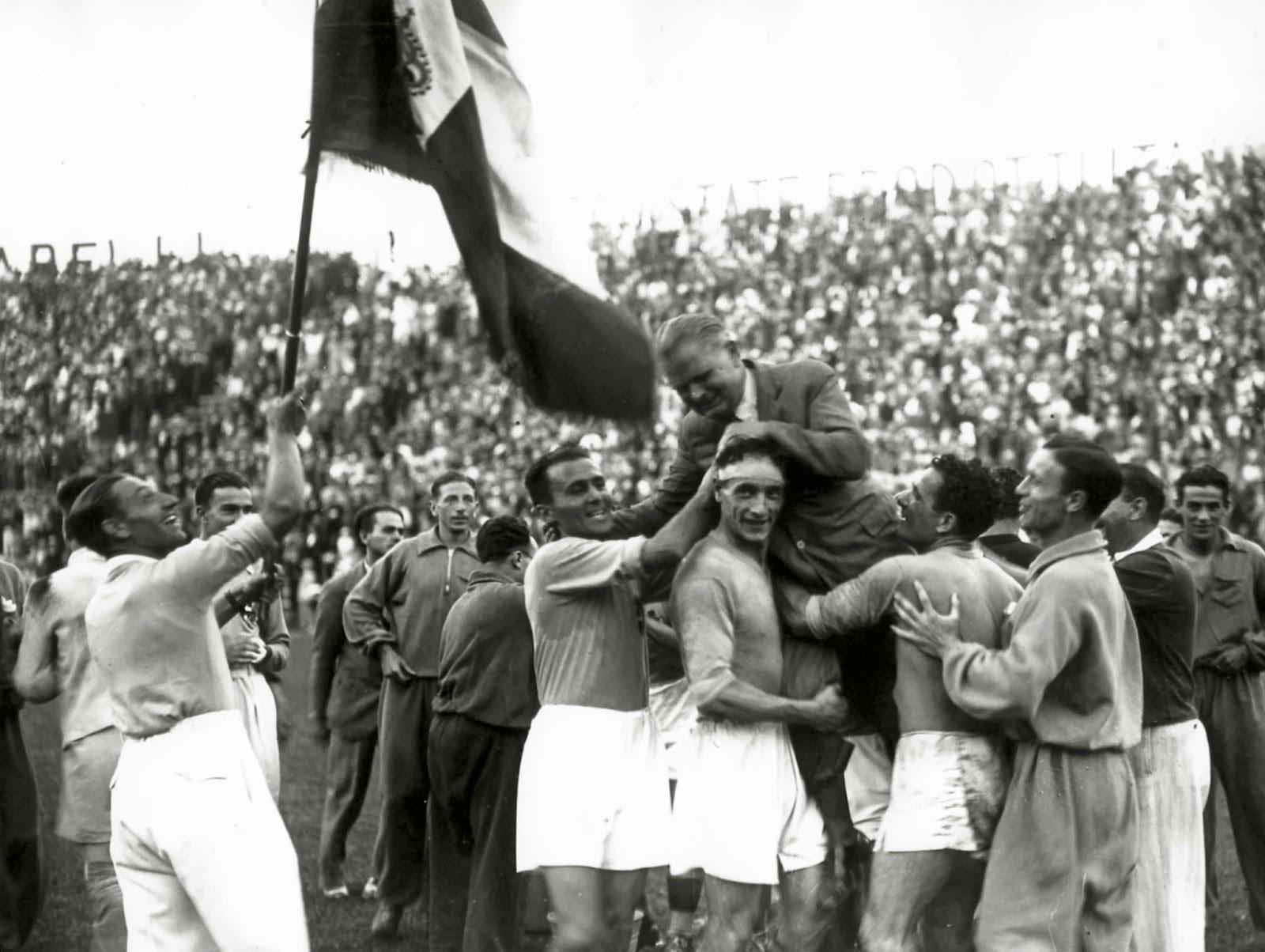 Calcio: 85 anni fa l'Italia vinse il primo Mondiale