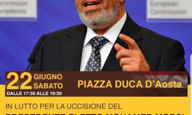 I Fratelli Musulmani manifestano a Milano per ricordare Morsi