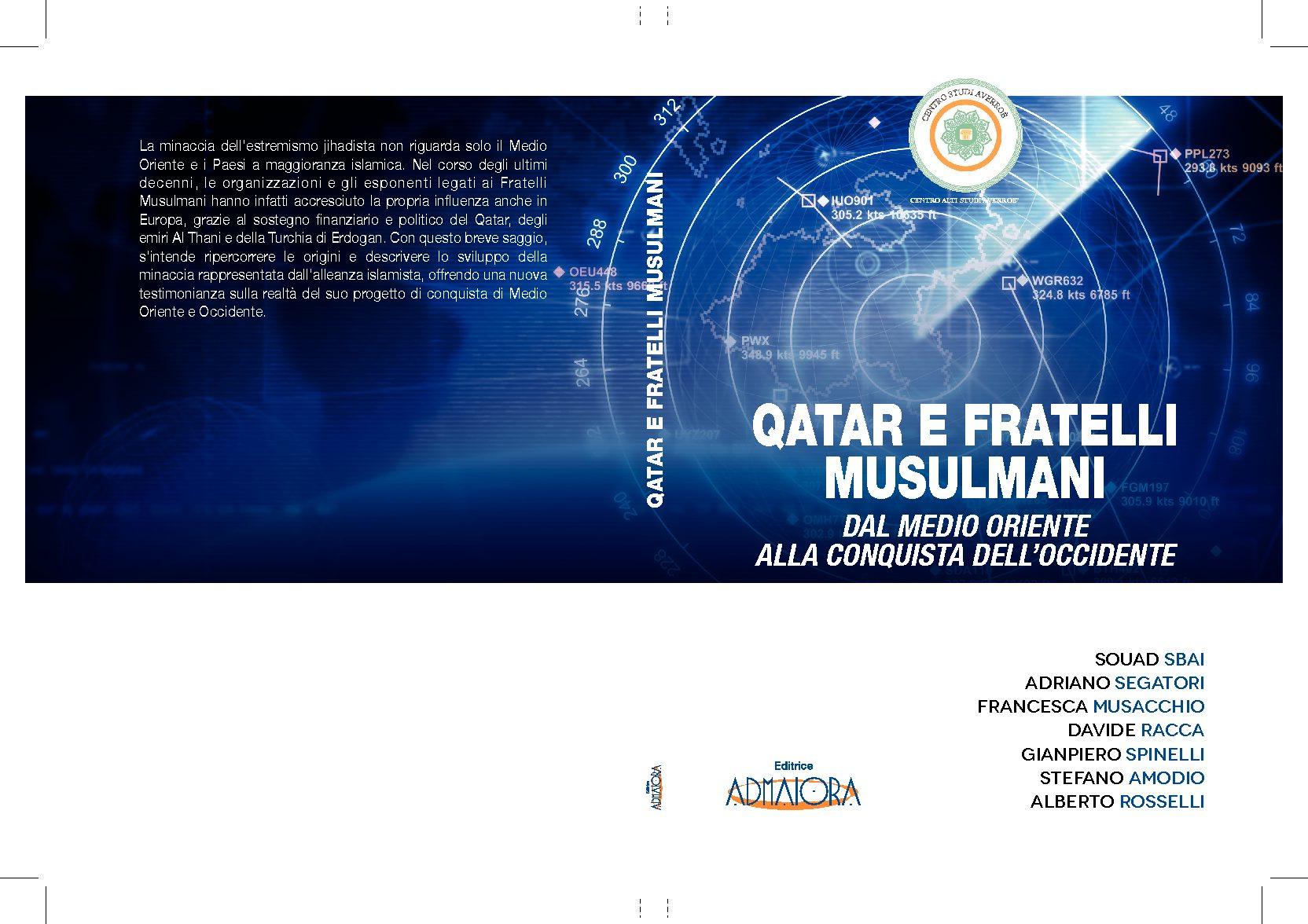 Centro Alti Studi Averroé, esce il nuovo libro su Qatar e Fratelli Musulmani