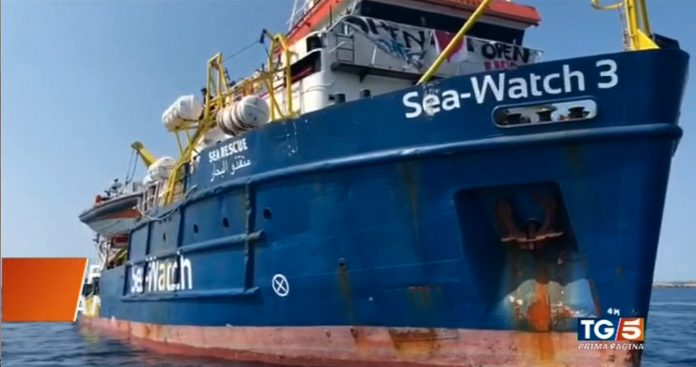 SeaWatch, come l'hanno raccontata i Tg?