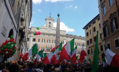Conte alla Camera: Lega e Fratelli d'Italia vanno in piazza