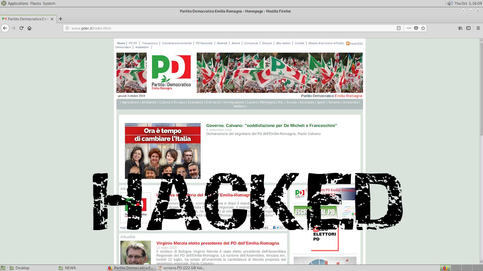 """Anonymous buca il Pd: """"Abbiamo informazioni, seguite i soldi"""""""