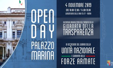 4 Novembre: palazzo Marina apre le porte al pubblico