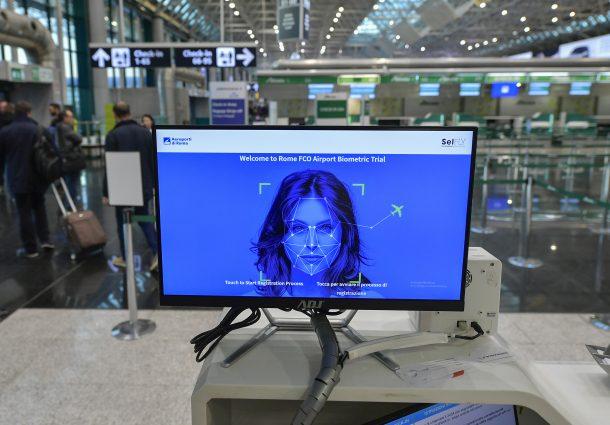 A Fiumicino parte l'identificazione biometrica del volto
